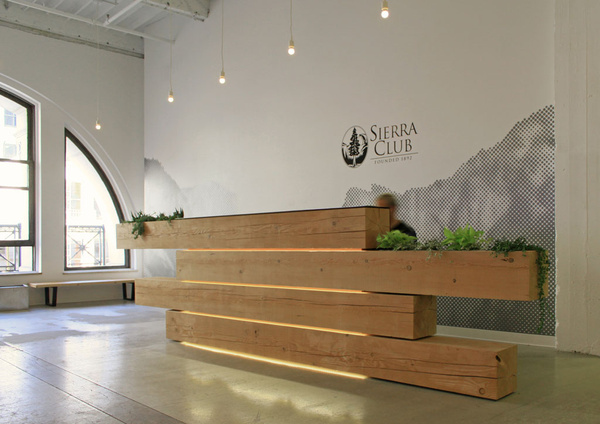 sierra club reception desk